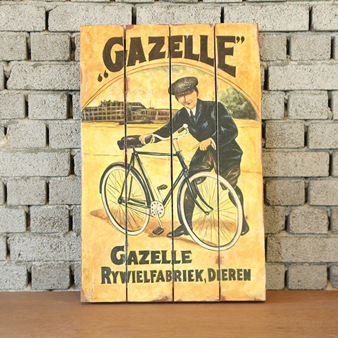 DISPLAY PAINTING GAZELLE