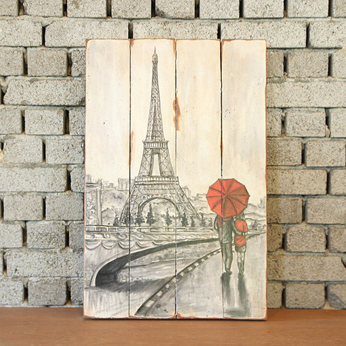 DISPLAY PAINTING EIFFEL TOWER
